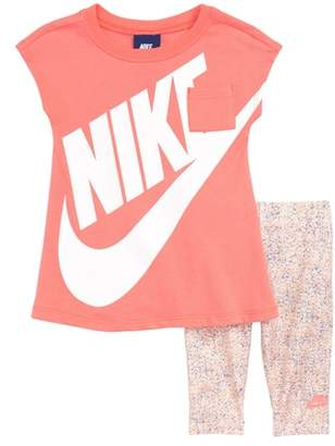 Nike Futura Dress & Capri Leggings Set