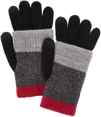 Steve Madden Multi-Stripe Touchscreen Gloves