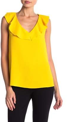 Cynthia Steffe CeCe by V-Neck Ruffled Blouse