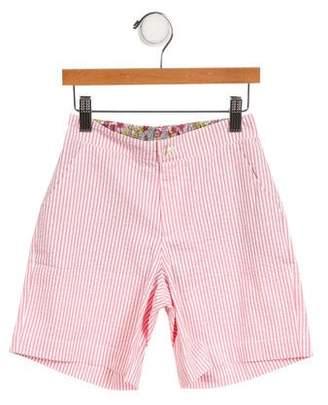 Oscar de la Renta Girls' Striped Bermuda Shorts w/ Tags