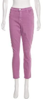 J Brand High-Rise Skinny Pants