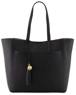 Cole Haan Natalie Unlined Tassel Tote Bag