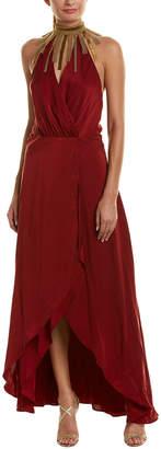 Haute Hippie Soul Seeker Silk Cocktail Dress