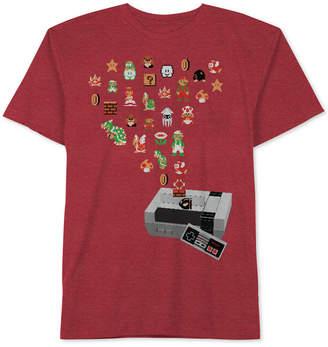 Nintendo Graphic-Print T-Shirt, Big Boys (8-20) $18 thestylecure.com