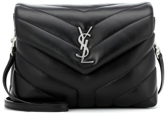 Saint Laurent Toy Loulou leather shoulder bag