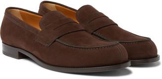 Mr P. - Dennis Suede Loafers - Men - Brown