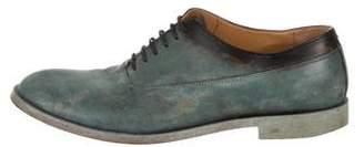 Maison Margiela Dip-Dye Leather Oxfords