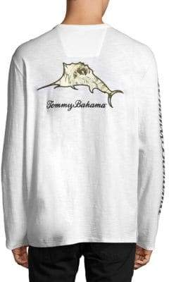 Tommy Bahama Don't Leaf Me Now Lux Backscreen Tee