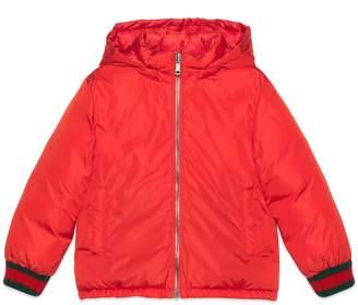 Gucci Children's reversible GG jacquard jacket