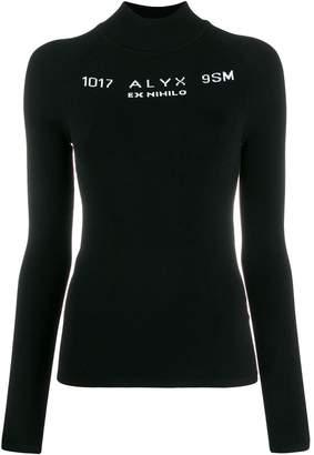 Alyx logo intarsia jumper