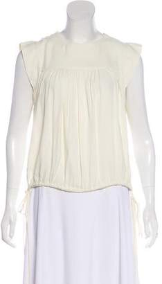 Etoile Isabel Marant Pleated Sleeveless Top