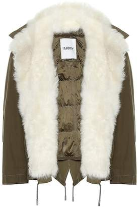Yves Salomon Army Shearling jacket