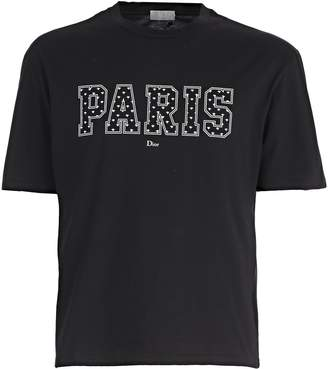 Christian Dior Paris Print T-shirt