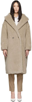 Max Mara Beige Teddy Coat