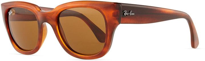 Ray-Ban Cat-Eye Sunglasses, Shiny Black