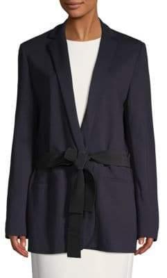 Strong Addition Tie-Waist Blazer