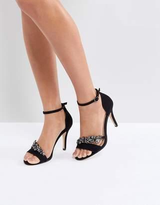 Carvela Barely There Jewelled Heeled Sandal