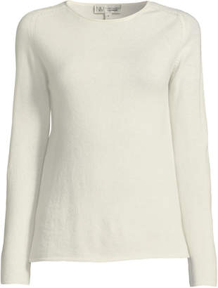 Neiman Marcus White Pullover Womens Sweaters Shopstyle