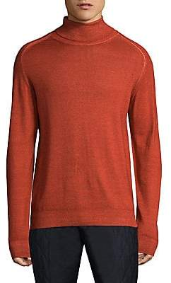 Etro Men's Long-Sleeve Wool Sweatshirt