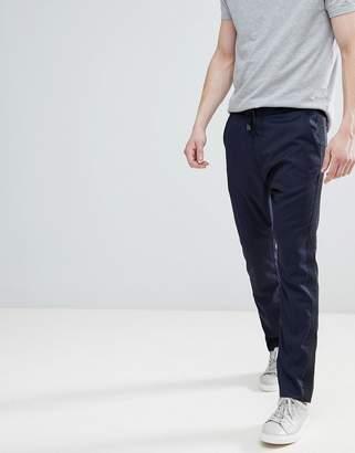HUGO Taped Leg Drawstring Pants In Navy