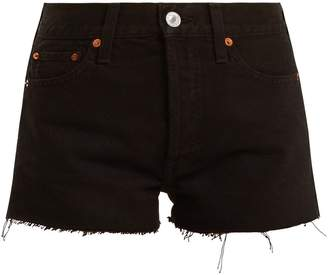RE/DONE ORIGINALS The Short mid-rise denim shorts