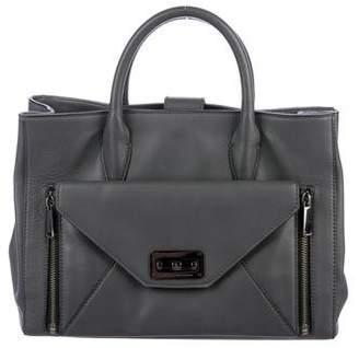 Diane von Furstenberg 440 Leather Satchel