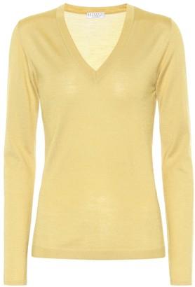 Brunello Cucinelli Silk and cashmere sweater