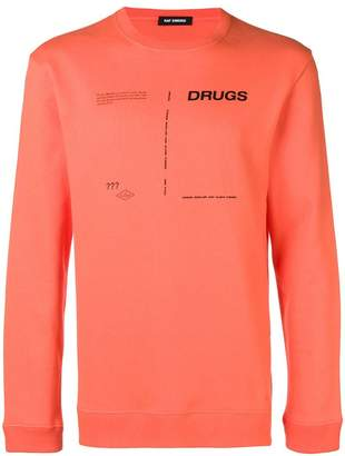 Raf Simons drugs sweatshirt
