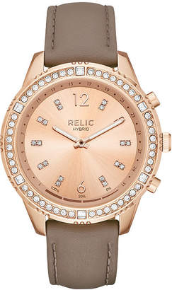 RELIC Relic Eliza Womens Rose Goldtone Smart Watch-Zrt1005