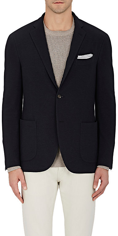 Barneys New York Barneys New York Men's Cotton-Blend Two-Button Sportcoat