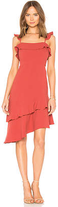 Endless Rose Asymmetrical Dress