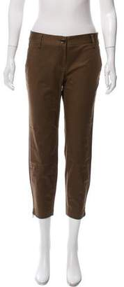 Burberry Cropped Low-Rise Pants