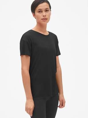 Gap GapFit Short Sleeve V-Back T-Shirt