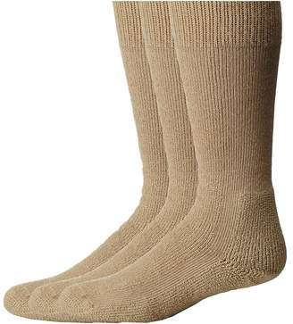 Thorlos Combat Boot 3-Pair Pack Crew Cut Socks Shoes