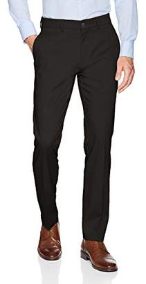 Haggar Men's Premium No Iron Slim Fit Flat Front Casual Pant