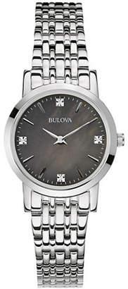 Bulova Womens Diamond Gallery Collection Petite 96P148