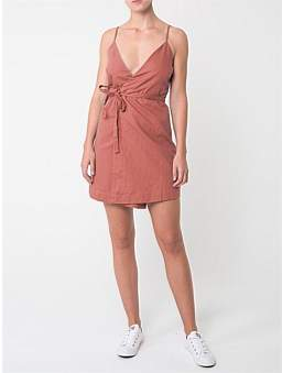 Nude Lucy Lunar Wrap Dress
