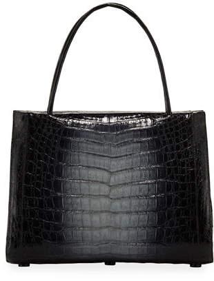 Nancy Gonzalez Willis Medium Crocodile Top-Handle Bag