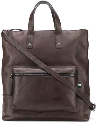 Green George top-handle backpack