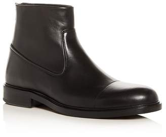 Vince Men's Beckett Leather Cap-Toe Boots