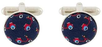 fe-fe Gem cufflinks