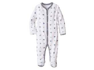 Ralph Lauren Baby Printed Interlock Bear Coveralls (Infant)