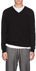 Barneys New York Men's Cashmere V-Neck Sweater - Black