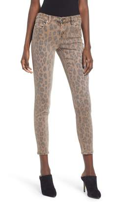 Blank NYC BLANKNYC The Reade Leopard Crop Skinny Jeans