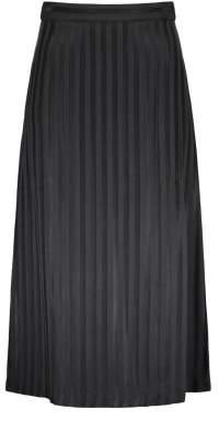 Masscob Sale - Cupro Striped Maxi Dress