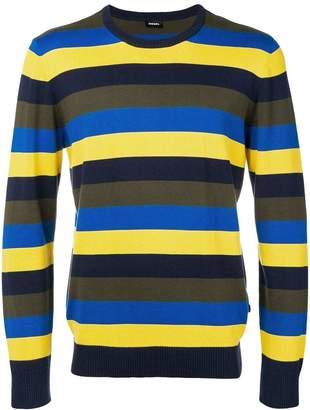 Diesel striped knit sweater