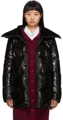 Yves Salomon Reversible Black Down and Fur Four Jacket