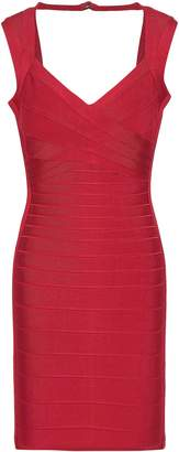 Herve Leger Sarai Cutout Bandage Mini Dress