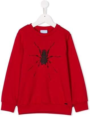 Lanvin Enfant spider print sweatshirt