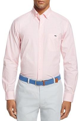 Vineyard Vines Seabrook Gingham Tucker Slim Fit Button-Down Shirt $98.50 thestylecure.com